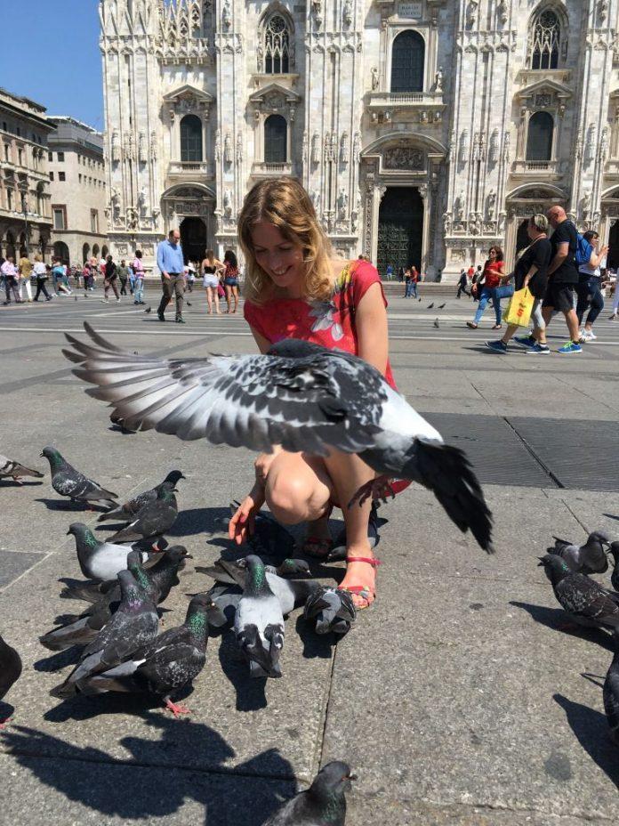 Johanna in Milan
