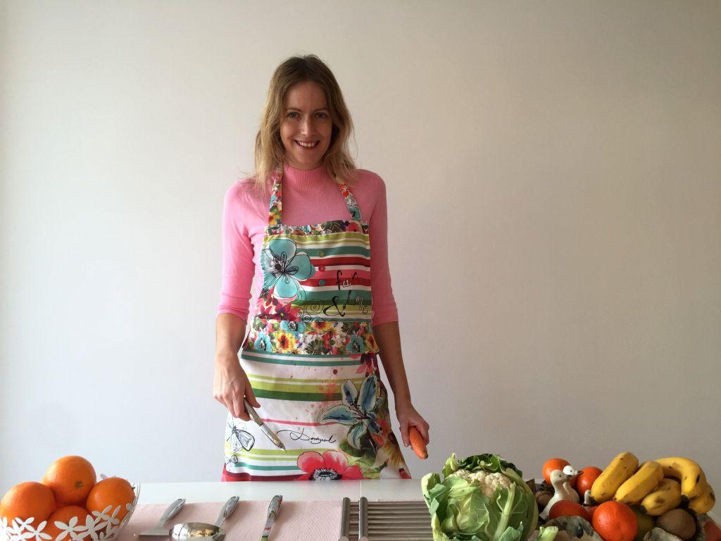 Johanna cooking